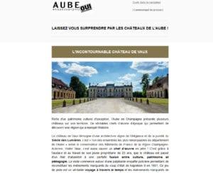 LAISSEZ VOUS SURPRENDRE PAR LES CHÂTEAUX DE L'AUBE !
