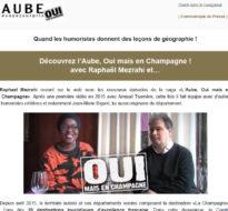 Communiqué de presse – Mars 2016 – Découvrez l'Aube avec Raphaël Mezrahi