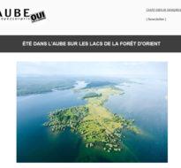 Newsletter Juin – Un été dans l'Aube sur les Lacs