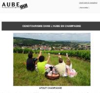 Newsletter mai 2016 – Oenotourisme dans l'Aube