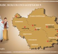 """Jeu en ligne """"Les Templiers de l'Aube"""""""