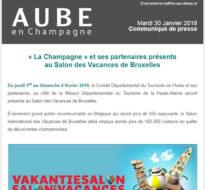 Communiqué de presse – Janvier 2018 – Salon de Bruxelles