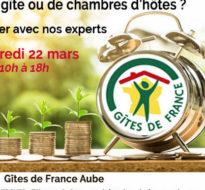 Journée Etude de Projets / Gîtes de France / Vendredi 22 mars 2019