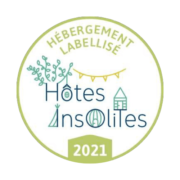Logo Hôtes Insolites - 2021